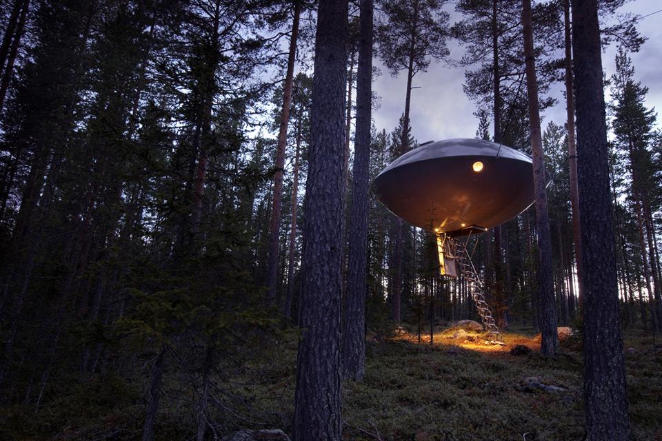 ツリーホテル - スウェーデン個性派ホテル