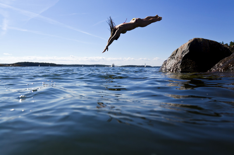A swim in the archipelago_Photo_Henrik Trygg_Low-res