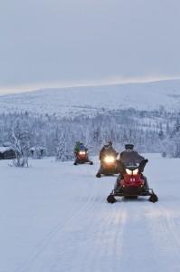 Snowmobile in Vemdalen Mikko Nikkinen-imagebank.sweden.se