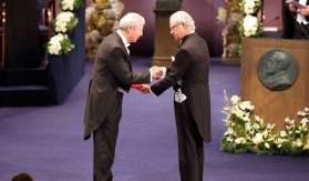 Nobel Prize Award Ceremony Stockholm 2011