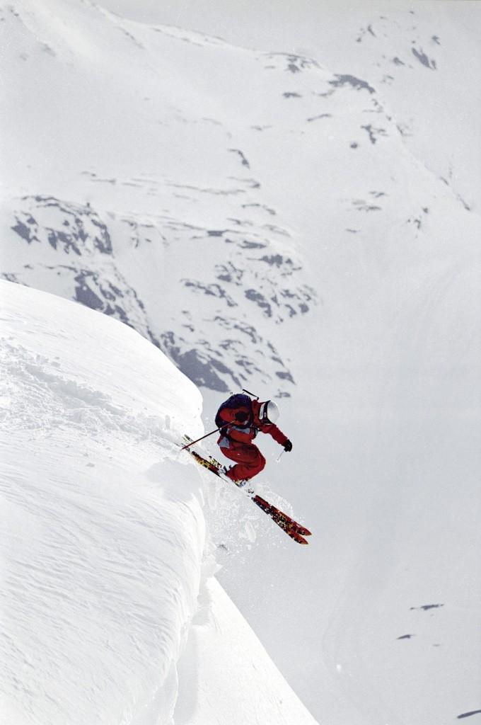 スウェーデンの自然. スキー